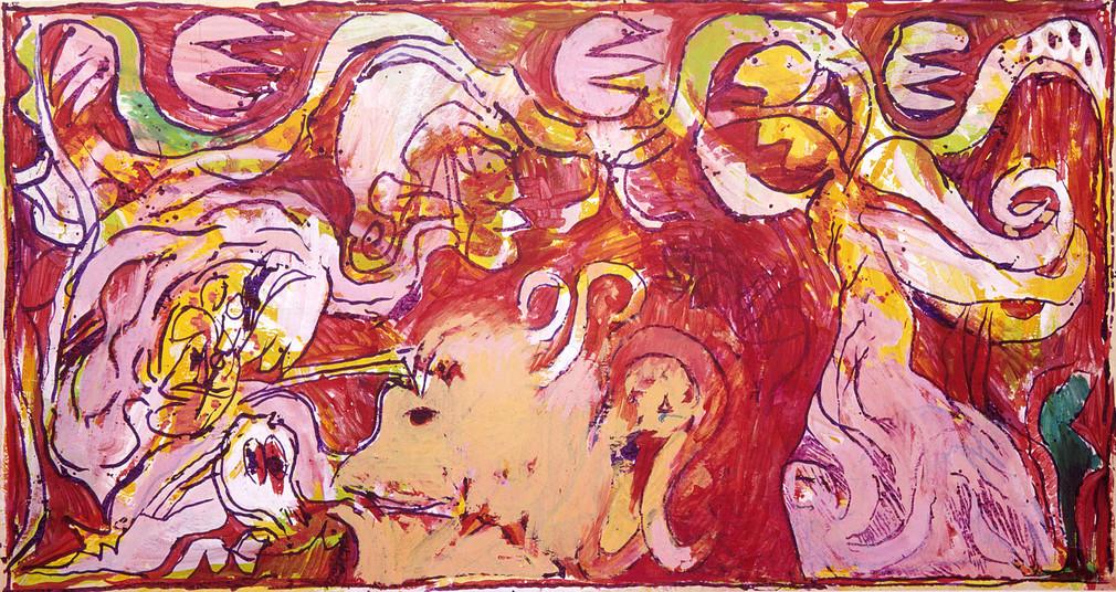 Association des amis du mus e matisse alechinsky au for Alechinsky oeuvres