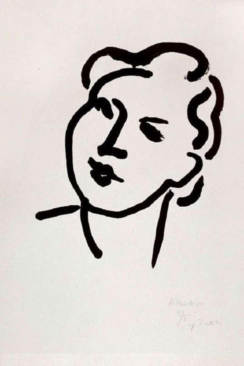 Association des Amis du Musée Matisse - Nadia au visage rond